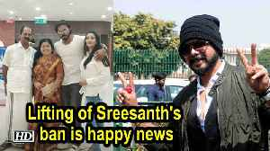 Lifting of Sreesanth's ban is happy news: Family [Video]