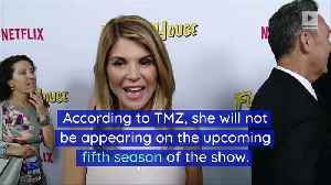 Lori Loughlin Fired From 'Fuller House' Amid College Bribe Scandal [Video]