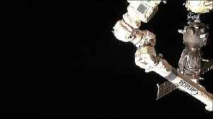 US-Russian crew reach International Space Station [Video]
