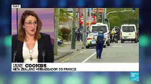 New Zealand's ambassador to France: 'All New Zealanders will feel connected to happenings Christchurch' [Video]