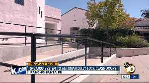 Rancho Santa Fe School District approves $424,000 system to automatically lock class doors [Video]