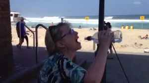 Woman Struggles with Water Bottle [Video]