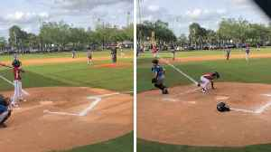 One-armed Youngster Stuns Little League Crowd By Hitting Grand Slam Home Run When All Bases Are Loaded [Video]