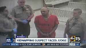 Kidnapping, shootings suspect faces judge in Maricopa County [Video]