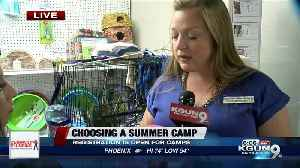 As temperatures start warming up, summer camp registrations start opening [Video]