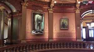 Michigan History Throwback: The Gallery of the Governors [Video]