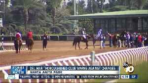 Del Mar Thoroughbred Club reacts to latest horse death at Santa Anita [Video]
