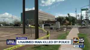 Unarmed suspect shot and killed by police in Phoenix [Video]