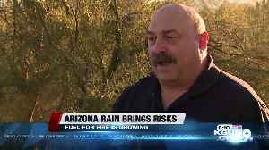 Arizona Rain Brings Risks [Video]