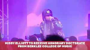 Missy Elliot Is Getting Honorary Doctorate From Berklee College [Video]