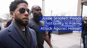 Jussie Smollett Officially Pleads Not Guilty [Video]