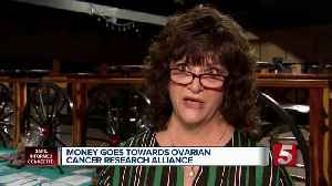Barbara Leatherwood Fight for a Cure benefit raises funds for ovarian cancer [Video]