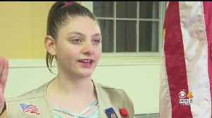 Girl Scout Honored For Rescuing Baby From Pool [Video]