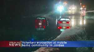 Mobile Home Park Voluntarily Evacuated Due To Flooding [Video]