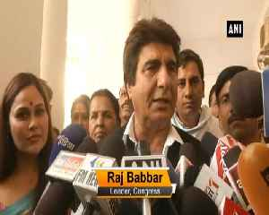 We are not in an alliance with SP-BSP, says Raj Babbar [Video]
