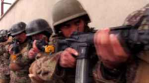 On patrol with Afghan Special Forces [Video]