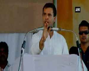 All PM Modi does is abuse people, never said anything about anybody Rahul Gandhi [Video]