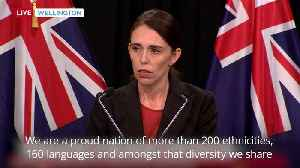 News video: Jacinda Ardern condemns Christchurch mosque shootings