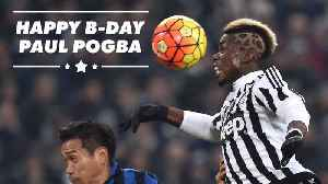 Paul Pogba's 4 most daring hairstyles [Video]