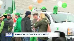 News video: Saint Patrick's Day festivities kicks off this weekend