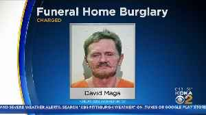 Man Breaks Into Canonsburg Funeral Home, Steals Liquor And Blanket [Video]