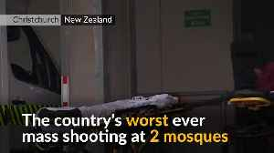 News video: Scores killed in New Zealand mosque shootings