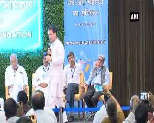 Ayushman Bharat Scheme is handout to 15-20 richest businessmen in India Rahul Gandhi [Video]