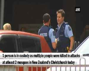 News video: This is one of New Zealand's darkest days NZ PM after gunmen open fired in mosques