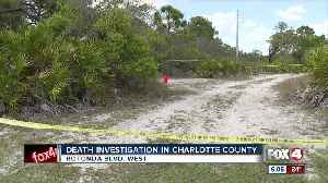 Death investigation under way in Charlotte County wooded area [Video]