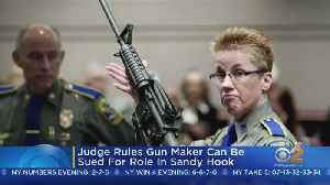 Judge: Gun Maker Can Be Sued For Role In Sandy Hook Shooting [Video]