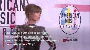 Taylor Swift shakes off haters with iHeartRadio Music Awards speech [Video]