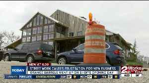 Downtown construction slowing down new business [Video]