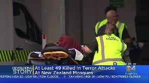 At Least 49 Dead In Shootings At Two New Zealand Mosques [Video]