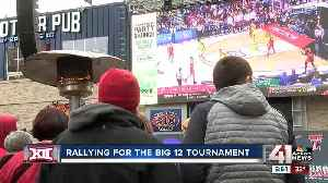 From BBQ to a party brunch: The Big 12 tournament fan experience extends beyond Sprint Center [Video]