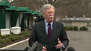 U.S. 'greatly disturbed' by N.Z. shootings: Bolton [Video]