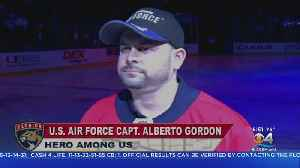 Heroes Among Us: U.S. Air Force Captain Alberto Gordon [Video]