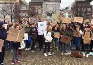 News video: Students Across the World Join School Strike Climate Protest
