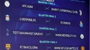 Champions League Manchester City Draws Tottenham [Video]