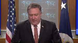 Pompeo: U.S. condemns 'hateful assault' in N.Z. [Video]