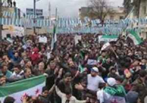 Hundreds Rally in Azaz to Mark Eight Years Since Beginning of Syrian 'Uprising' [Video]