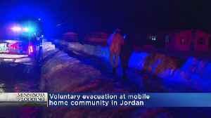 Homes Evacuated In Jordan [Video]