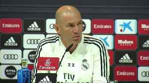 'I want to win all remaining matches' - Zidane [Video]