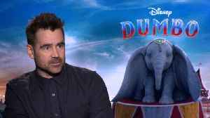 Colin Farrell On Having His Sons Watch 'Dumbo' [Video]