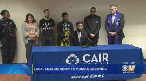 News video: North Texas Muslim Community Reacts To Deadly Terror Attack In New Zealand