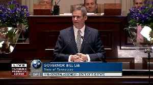 Governor Lee's State of the State Address p1 [Video]