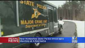 New Hampshire State Police Investigate Shooting At Alton Home [Video]