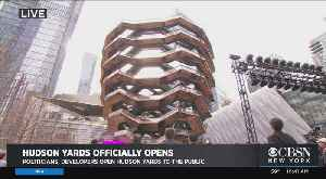 Full Video: Hudson Yards Opens To Public [Video]