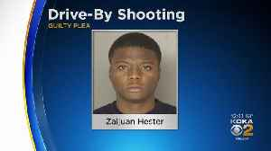 Man Accused In Drive-By Shooting Pleads Guilty To Several Charges [Video]