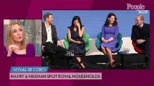 What the Splitting of Royal Households Means for Meghan, Prince Harry, Kate and Prince William [Video]