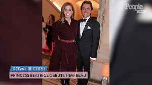 Princess Beatrice Makes Her First Red Carpet Appearance with New Boyfriend Edoardo Mapelli Mozzi [Video]